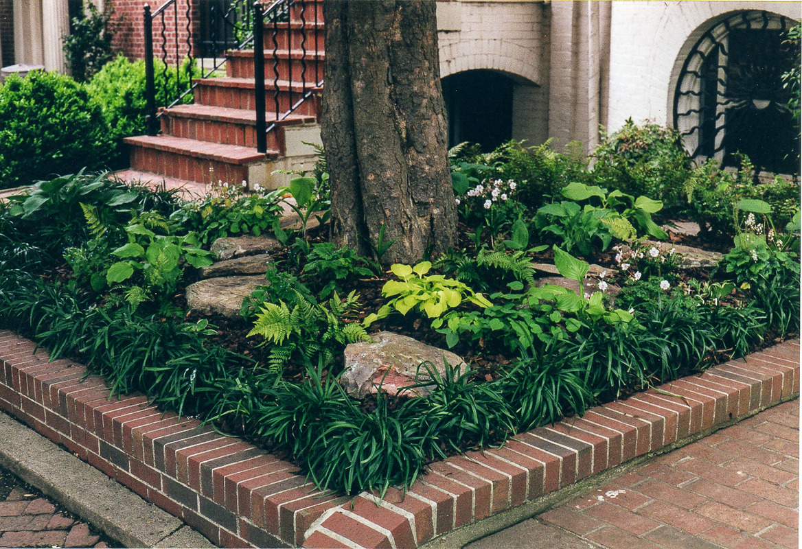 "We love ""postage stamp"" gardens! : Front Gardens : CITYSCAPES® Landscaping Inc."